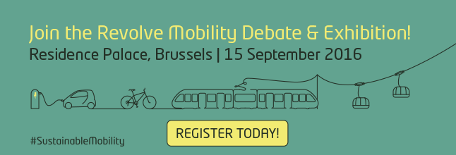 Sustainable Mobility 2016 Banner