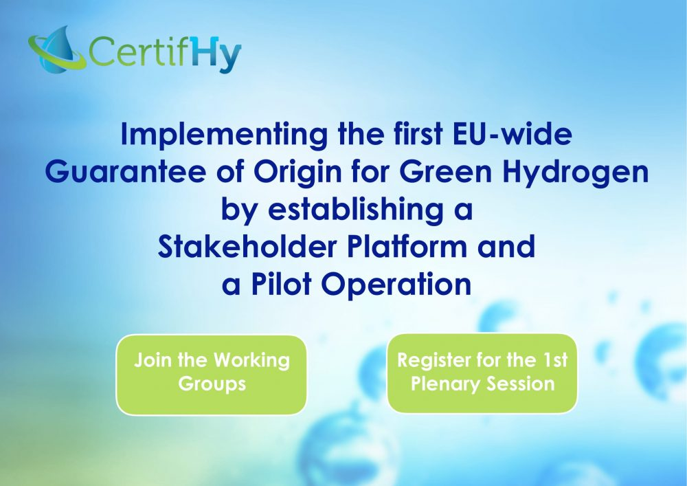 Designing The First EU-wide Green Hydrogen Guarantee Of Origin For A New Hydrogen Market