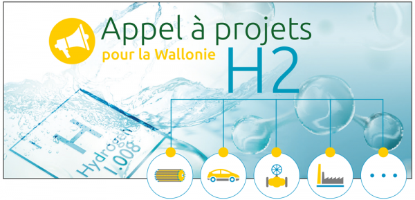 Call For Hydrogen Projects In Wallonia