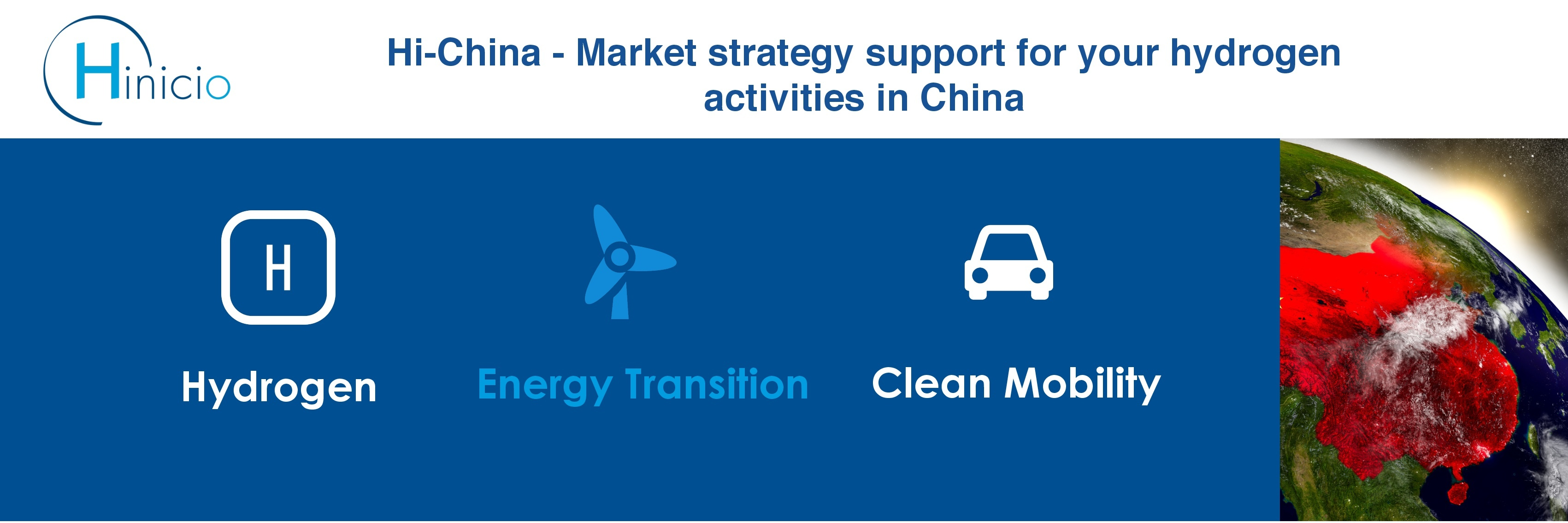 Hi-China – Market Strategy Support For Your Hydrogen Activities In China